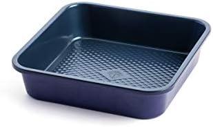 Blue Diamond Cookware Bakeware Premium Nonstick Square Cake Pan 8 product image