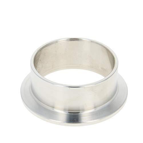 Férula de tubo de vacío Acero inoxidable 304 Brida de 55 mm Diámetro de soldadura de tubo de vacío en la virola 1PCS 20mm Longitud