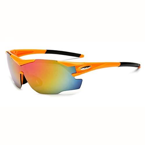 NSGJUYT Gafas de Ciclismo al Aire Libre Unisex Gafas de Sol UV400 de la Bici vidrios de la Bicicleta Deportes Gafas de Sol Gafas de equitación (Color : 2)