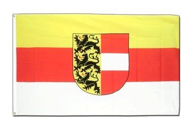 Österreich Kärnten Flagge, österreichische Fahne 90 x 150 cm, MaxFlags®