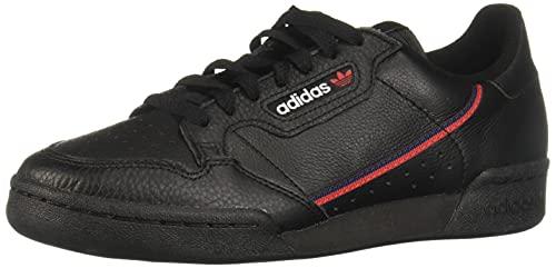 adidas Continental 80, Scarpe da Ginnastica Basse Uomo, Nero Black G27707, 42 2/3 EU