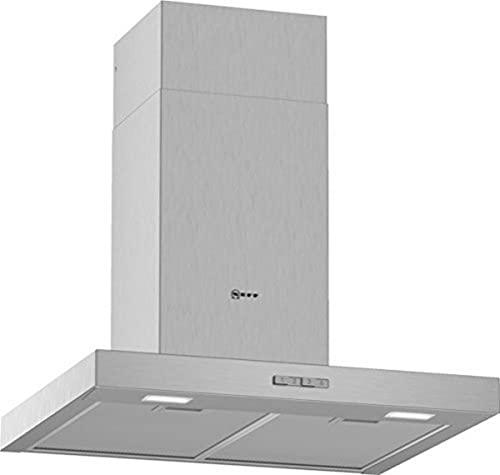 NEFF Hotte D64BBC0N0 N30 / 60 cm/évacuation d'air ou recyclage/efficacité énergétique B/acier inoxydable