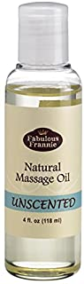Massage Oil Unscented 4oz Natural A Base Oil for Aromatherapy, Essential Oil or Massage use. Made with Safflower, Grapesee...
