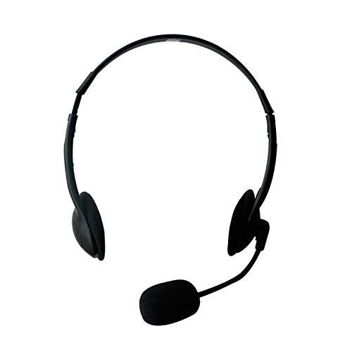 Eminent EM3563 - Auriculares de Diadema Abiertos (con Micrófono),...