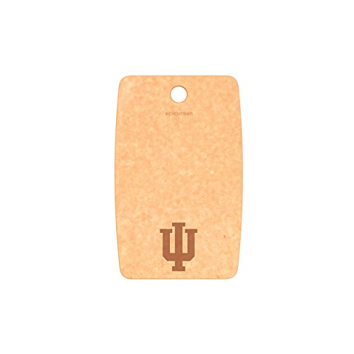 Epicurean Indiana Hoosiers Cutting/Serving Board, 9.5' x 6', Natural