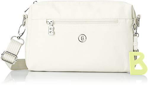 Bogner Damen Verbier Pukie Shoulderbag Shz Schultertasche, Weiß (White), 4x15x22 cm