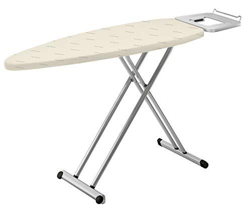 Rowenta Pro Comfort IB5100 tabla de planchar, altura regulable, gran estabilidad y diseño robusto, soporta hasta 40 kg, estructura con tratamiento anticorrosivo