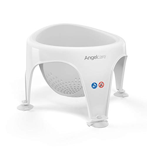 Angelcare Soft Touch Bad Sitz (Aqua) – Grau