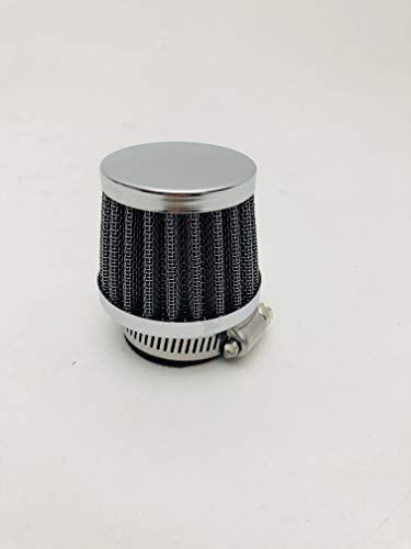 Paire de demi-poign/ées en acier galvanis/é pour moto Minarelli DM 28 mm