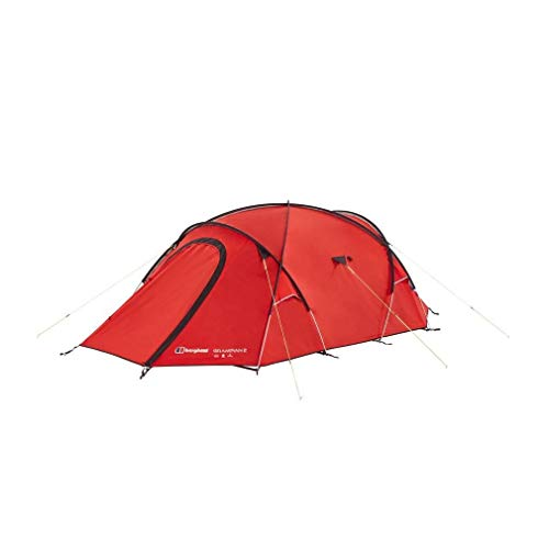 Berghaus Grampian Lightweight Compact 2 Person Tent, Red, One Size