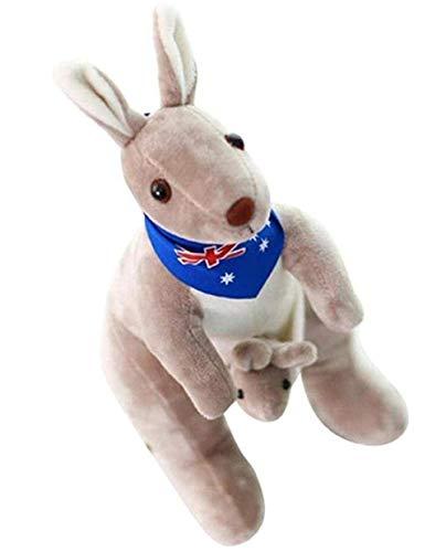knuffels schattig kangoeroe zacht gevuld pluche poppen speelgoed voor baby kinderen