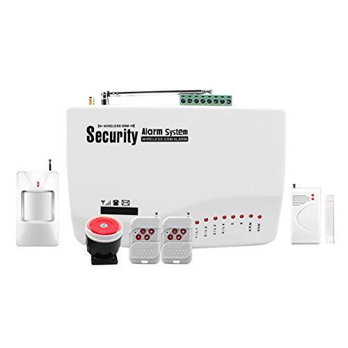 Wivarra Aplicación Alarma Antirrobo Alarma Gsm Alarma Antirrobo Alarma de Seguridad Sistema de Alarma Antirrobo para el Hogar Enchufe de la Ue