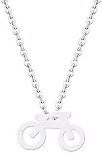 BACKZY MXJP Halskette Mountainbike Charm Anhänger Halskette Kragen Minimalistischer Schmuck Halskette