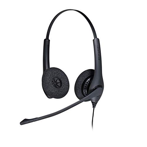 Headset stereo cancelamento de ruído Biz 1500 Duo QD Jabra