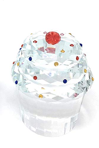 Simon Design Crystal Cupcake with Cherry on Top # SD226051