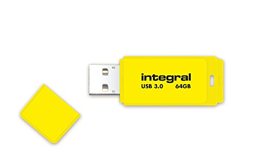 Integral Neon 64GB USB-Stick USB3.0 gelb