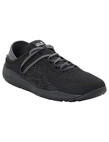 Jack Wolfskin Herren Seven Wonders Packer Low Sneaker, Schwarz (Black 6001), 42 EU