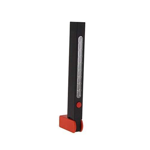 Xanlite LP1075 Mini Baladeuse 10 LED, Plastique, 1 W, Rouge/Gris