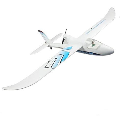 DYNAM Rc Segelflugzeug Hawkrider V2 Motorsegler EPO RTF 1370mm 2,4 GHZ Brushless Flugzeug