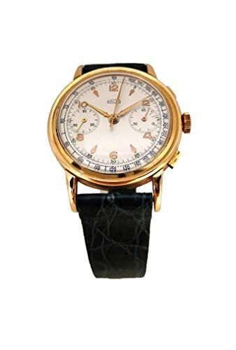 Herrenuhr Vintage Chronograph Arsa aus Gold 18 kt mechanisches Uhrwerk