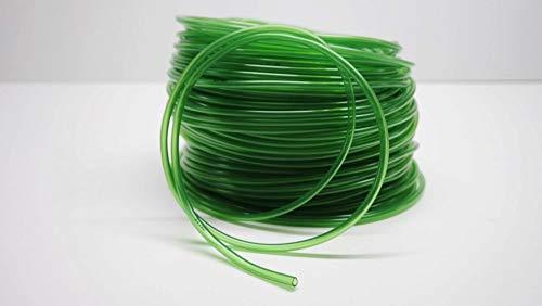 AquaOne Aquariumschlauch 4/6 mm 25 Meter Aquariumzubehör Reinigung Wasserwechsel Luftschlauch grün Top Qualität