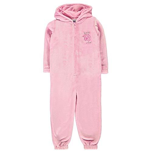 Character Onesie Kinder Einhorn-Nachtwäsche, Schlafanzug, Lounge-Kleidung, Rosa Gr. 4-5 Jahre, rose