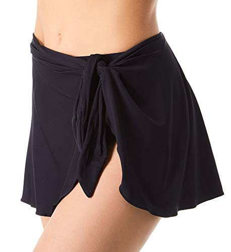 Contours by Coco Reef Women's Halo Sarong Skirt, Black 001, Small