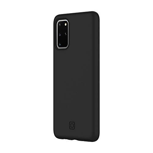 Incipio DualPro Cover für Samsung Galaxy S20+ (5G) - von Samsung zertifizierte Hülle (schwarz) [Qi kompatibel I Robuste Handyhülle I Stoßabsorbierendes Hülle I Soft-Touch Beschichtung ] - SA-1034-BLK
