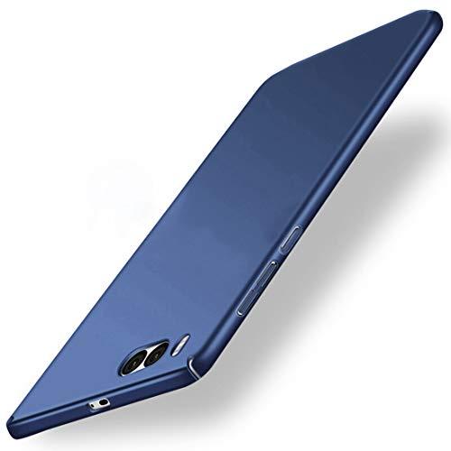 Tianqin Xiaomi Note3 Cover, Custodia Protettiva Slim PC Ultra Leggera Guscio Duro Anti-Graffio Caso Copertura Protettiva Semplice Elegante per Xiaomi Note3 - Blu