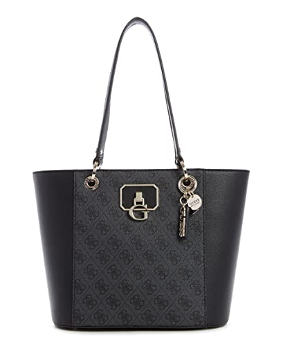 GUESS Noelle Small Elite Bolso, Carbón, One_size