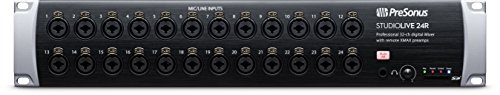 PreSonus StudioLive 24R 26-input, 32-channel Series III stage box en rack mixer
