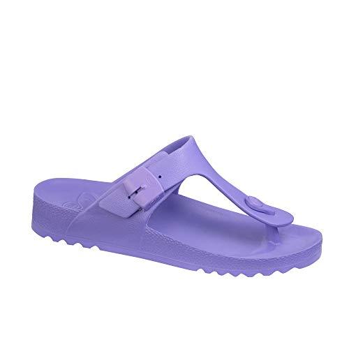 Scholl Chanclas de Playa Bahia Flip-Flop Violeta 39