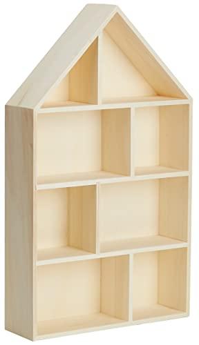 Rayher Rayher 62611000 Holz-Setzkasten Haus, zum Bild
