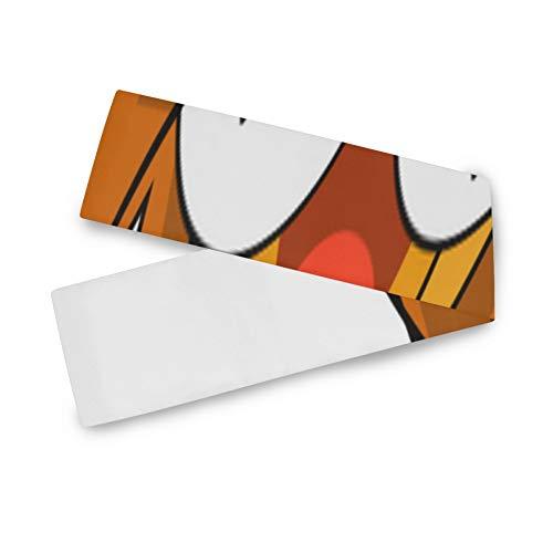 ALALAL Camino de Mesa Moderno Lindo Activly Optimistic Lion Camino de Mesa de jardín de Dibujos Animados Camino de Mesa de Billar para Oficina Cocina Comedor Banquete de Boda Decoración d
