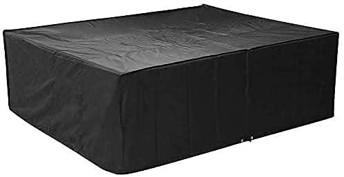 spaire Abdeckung Schutzhülle für Gartenmöbel und für rechteckige Sitzgarnituren, Gartentische und Möbelsets (250 * 200 * 80cm)