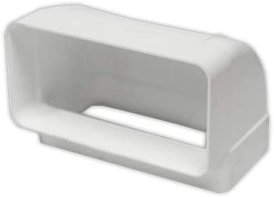 170x90 mm PVC ESTANDAR Codos Codo 90grados horizontal rectangul DOJA Industrial