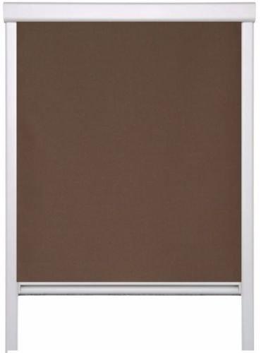 Artens dakraam rolgordijn passend voor Velux dakraam GGL M04;M06 (60,7 cm x 93,4 cm) kleur bruin verduisteringsrolgordijn