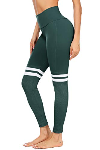 COOrun Black Yoga Pants High Waiste…