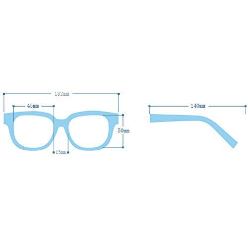 Millya Unisex Anti-radiation Plain Glasses Spectacles Full Frame Clear Lens Eye Glasses without Degree (4034 Dark Brown)
