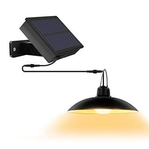 Luces Solares, Lámpara LED De Araña Impermeable IP65 Para Exteriores, Cable De 118.11 Pulgadas, Control Remoto, Luces LED Para Exteriores, Luz Colgante Con Panel Solar Ajustable De 270 ° De Ancho
