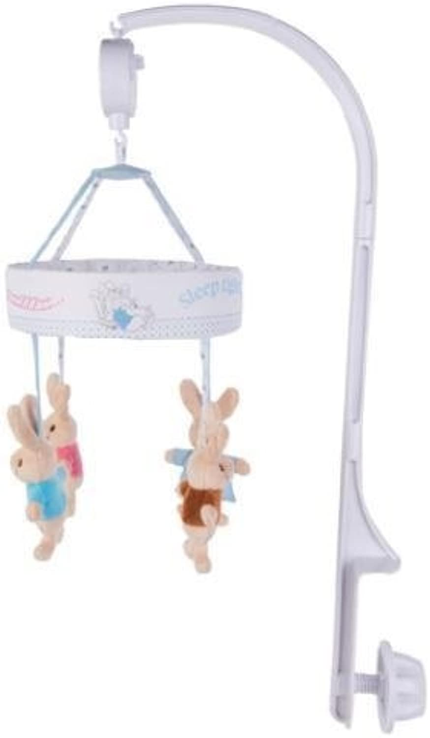 BCreative Peter Rabbit Flopsy Bunny Plush Soft Toy My First Blanket Mobile Jack in the Box (Cot Mobile)