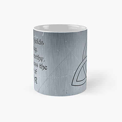 Taza clásica Everything is Mjolnir   El mejor regalo divertidas tazas de café de 325 ml