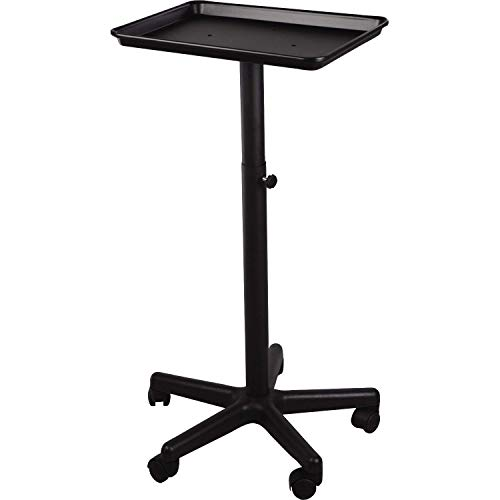 Modern Elements Black Color Service Tray