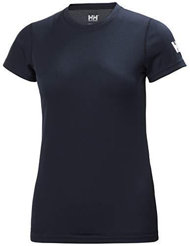 Helly Hansen W HH Tech T-Shirt Femme Bleu (Navy) FR: S (Taille Fabricant: S)