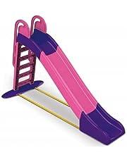 Tobogán infantil de plástico para jardín, escalera de jardín para niños, 243 cm, 3Toysm