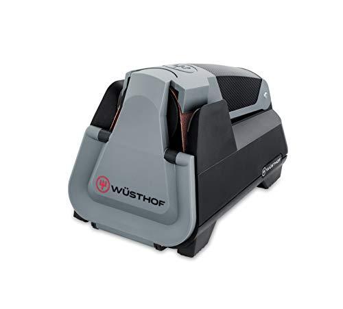 Wüsthof Easy Edge 4341 Elektrische messenslijper, intelligent slijpsysteem met 3 volautomatische schuurprogramma's