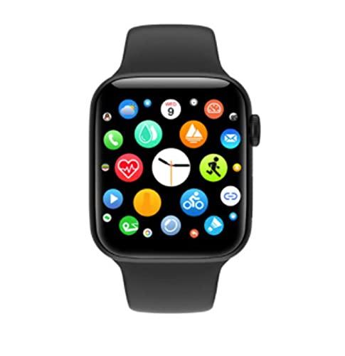 Smartwatch, T500+ Smartwatch, für Herren und Damen, Digitaluhr, Aktivitätsmonitor, Herzfrequenz- und Schlafüberwachung, Touchscreen, für Android und iOS