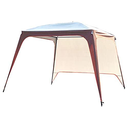 0℃ Outdoor 3x3m Carpas Pabellón Impermeable Estable, Pabellón de Jardín Paneles Laterales Marquesina de Boda Protección UV para el Mercado Camping Bodas Festival Playa Terraza