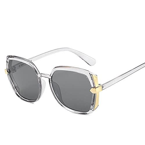 Gafas De Sol Hombre Mujeres Ciclismo Moda Retro Cuadrado Colorido Gradiente Gafas De Sol Gafas De Sol Hombres Mujeres Vintage Hombre Mujer Goggles-1-Jh18029-C2