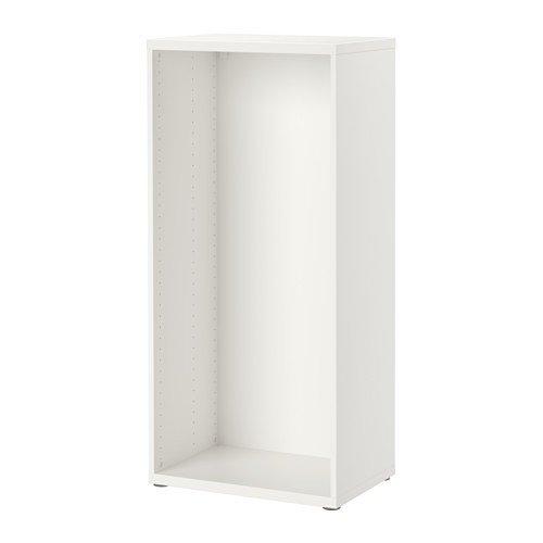 IKEA BESTA Korpus in weiß; (60x40x128cm)